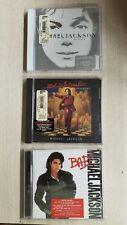 Michael Jackson 3 set CD Bad/Invincible/Blood on the Dance Floor