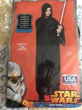Adult Star Wars Black Sith Lord Costume Robe