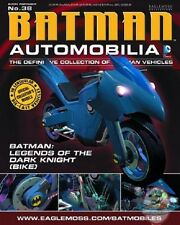 Dc Batman Automobilia #38 Legends The Dark Knight Batcycle Eaglemoss