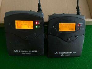 Sennheiser EW100 G3 working pair