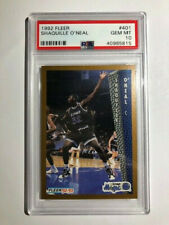 New listing 1992-93 Fleer Shaquille O'Neal PSA 10 Rookie Card # 401