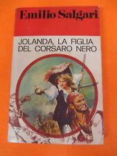 book libro JOLANDA LA FIGLIA DEL CORSARO NERO Emilio Salgari 1976 PAOLINE (L66)