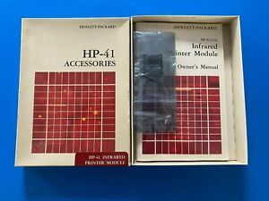 BOXED Hewlett Packard HP 82242A IR Infrared Calculator Module for 41C 41CV 41CX