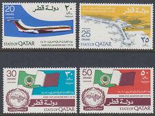 Qatar 1974 ** Mi.618/21 Luftfahrt Aviation Flugzeug Airplane Airport Flughafen