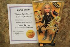 BRATZ DYNAMITE! CLOE DOLL - FROM CARTER BRYANT'S PRIVATE COLLECTION! WITH C.O.A.