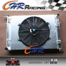 ALUMINUM RADIATOR + Shroud +14''fan for HOLDEN Commodore VN VG VP VR VS V6 3.8L