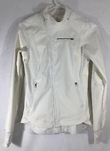 LULULEMON Running Off White Reflective Jacket FREE SHIP