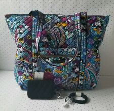 Vera Bradley Disney Paisley Celebration Mickey & Minnie Tote