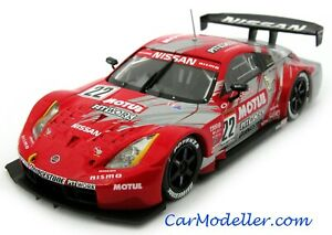 Ebbro Nissan Motul Pitwork Z Japan GT Championship #22 2004 1:43 scale #43669