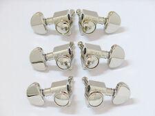 Grover 102-18N Rotomatic 18:1 3 per Side Tuners, Nickel