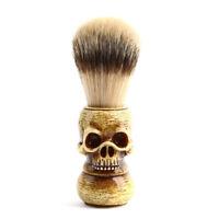 Men beard finest badger hair shaving brush wood handle barber salon razor HGQA