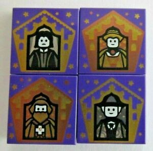 Lego Harry Potter - Choose Your Own Wizard Cards - 2x2 Tiles -Snape Gryffindor