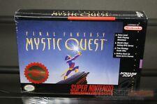 Final Fantasy: Mystic Quest (Super Nintendo, SNES 1992) H-SEAM SEALED! - RARE!