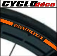 LISERET JANTE VELO stickers autocollant COMMENCAL CINTAS RIM STRIPES 40 COLORS