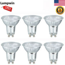 Lampwin LED Light Bulbs GU10 Base 5W Spotlight 6000K Daylight Spotlight 6 Pack