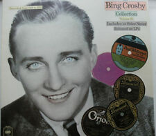 Bing Crosby 33RPM Speed Easy Listening Vocal LP Records
