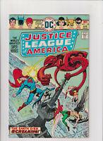 Justice League of America #129 VF- 7.5 DC Comics 1976 Superman Batman Hawkman