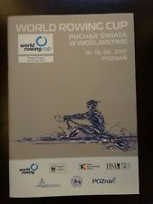 FISA Rowing World Cup Programme Poznan 2017