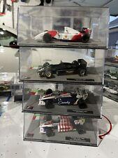 1/43 Ayrton Senna F1 Formula 1 Cars, 93 Mclaren, 85 Lotus, 84 Tolemans X2