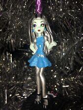 "4"" Monster High FRANKIESTEIN FRANKIE STEIN Custom Christmas Ornament On Stand"