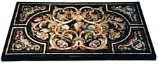 3'x2' Marble Dining Table Top Marquetry Mosaic Inlay Stone Livingroom Decor B593