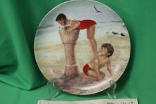 Donald Zolan - Beach Break Collector Plate - 3rd Chilhood Friendship Collection