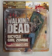 2012 McFarlane Walking Dead TV Series 2 BICYCLE GIRL ZOMBIE - Action Figure NIP