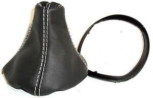 LANCIA Ypsilon 843 (Bj 2003-2011) cuffia cambio nera + CORNICE plastica interna