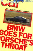 CAR magazine May 1987 Mercedes W124 BMW 8-series M3 Astra GTE VW Golf GTi XR3i
