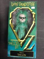Living Dead Dolls Teddy as the Lion emerald variant by Mezco. NIB.