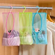 Space Saver Bag Organizer Hanging Mesh Net Breathable Cloth Underwear Storage US