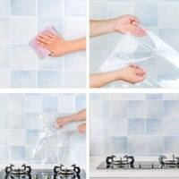 Transparent Hood Kitchen Wall Sticker Protection Film Anti-oil Self-adhesive