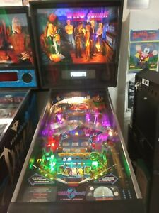 MAQUINA PINBALL MACHINE WHO DUNNIT WILLIAMS 1995 FLIPPER FULL LEDS DMD COLOR