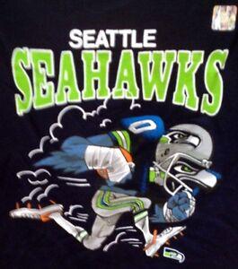 Seattle SEAHAWKS LOGO Shirt NWT M L XL 2XL AWESOME!! Seahawk