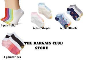 Gold toe Liner Socks 6 pair Pack OR 4 PAIR PACK