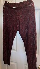 American Eagle Lace Leggings Large
