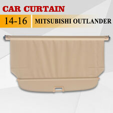 FOR 14-16 Mitsubishi Outlander Cargo Cover Retractable Rear Truck Luggage Shade