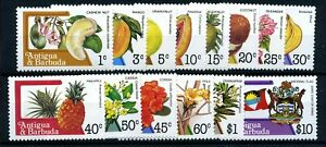 Antigua & Barbuda 1983 fruit/flowers MNH set