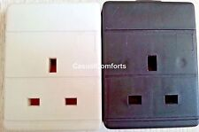 1 GANG SINGLE WAY UK 13A MAINS POWER REWIREABLE EXTENSION TRAILING SOCKET,BS1363