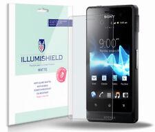 iLLumiShield Matte Screen Protector 3x for Sony Xperia GO Advance ST27i / ST27a