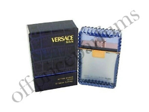 Versace Man By Versace 3.4 OZ After Shave Lotion New in Sealed Box