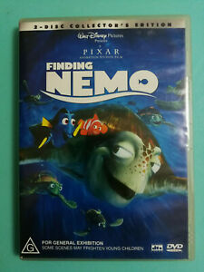 Finding Nemo DVD 2 disc set Rated G R4 Acceptable