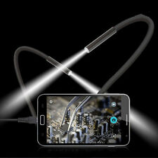 6 LED 2M USB Waterproof Endoscope Borescope Snake Inspection Video Camera 7mmAX