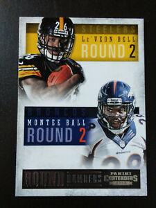 Le'Von Bell/Montee Rookies-2013 Panini Contenders Football-nrmt/mint-no.7