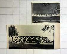 1957 New Sports Palace For The 1960 Olympics In Rome