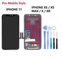 VITRE TACTILE ECRAN OLED IPHONE X 11 / 11 PRO MAX XS XR Xs max LCD garanti 1 an