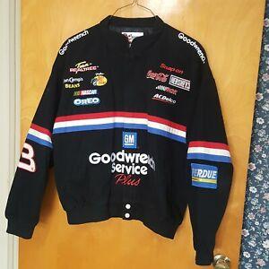 NASCAR Vintage Dale Earnhardt Goodwrench Racing Jacket Sz L Chase Authentics