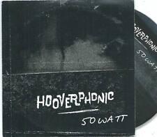 HOOVERPHONIC 50 Watt PROMO CD SINGLE