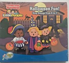 Fisher Price HALLOWEEN FUN Sing-Alongs CD from A to Z. Lyrics included.SEALED