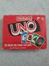 UNO CARD GAME - WADDINGTONS GAMES (1989)